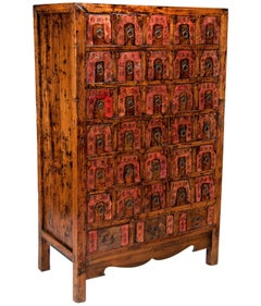 Early 20th Century Chinese Apothecary Cabinet