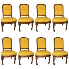 Set of Eight Chairs, Germany 1880