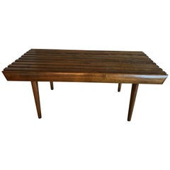 Midcentury Walnut Bench or Table