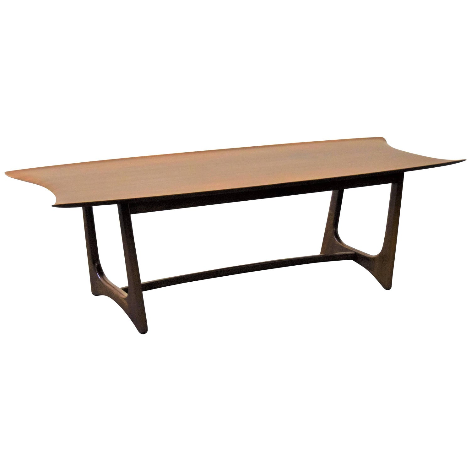 Adrian Pearsall Craft Associates Stingray Coffee Table For Sale