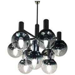 Space Age Chandelier by Targetti Sankey in