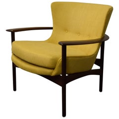 Ib Kofod-Larsen Horseshoe Lounge Chair  #655-15