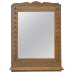 Spanish Mirror with Detailed Frame