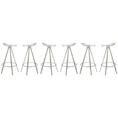 Jamaica Stools by Pepe Cortes Manufactured by Amat-3 for Knoll, Set of Six
