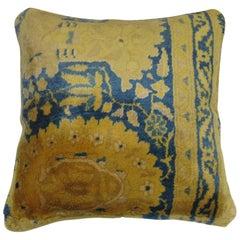 Vintage Indian Rug Pillow