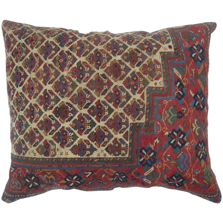 Persian Tribal Rugs: Persian Tribal Rug Pillow For Sale At 1stdibs