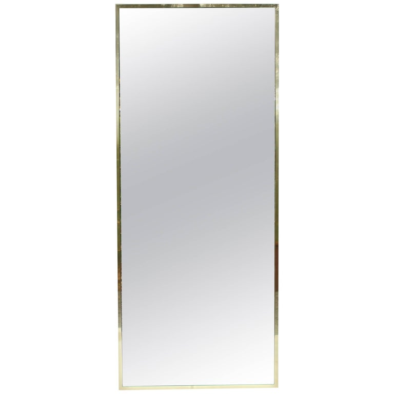 Brass Mirror by Paul McCobb for Calvin