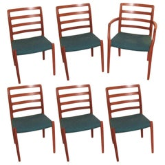 Set of Six Niels Moller Danish Dining Chairs