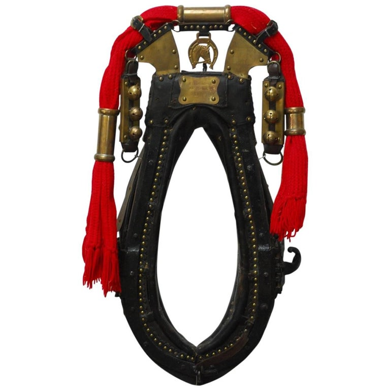 Dutch Equestrian Harness Collar Tack Hames With Sleigh