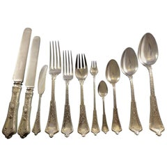 Persian by Tiffany & Co. Sterling Silver Flatware Service Set Dinner 213 Pieces