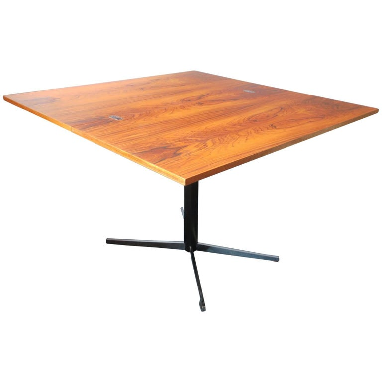 Multi-Purpose Rosewood Dining/Coffee Table by Wilhelm Renz