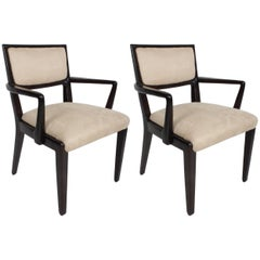 Pair of Edward Wormley for Drexel Arm Chairs - Precedent Collection