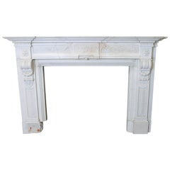 Late 18th Century Louis XVI Style Mantel