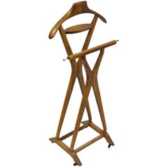Italian Modernist Clothing Suit Valet Stand by Ico Parisi for Fratelli Reguitti