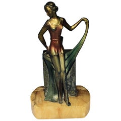 1930s Art Deco Figural Lighter