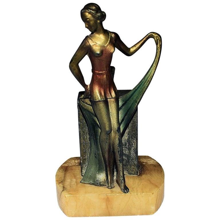 1930s Art Deco Figural Lighter
