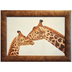 Annick Biaudet, Disney Artist, Girafes
