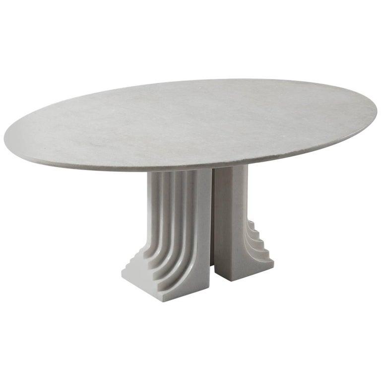 Carlo Scarpa Marble 'Samo' Table for Simon