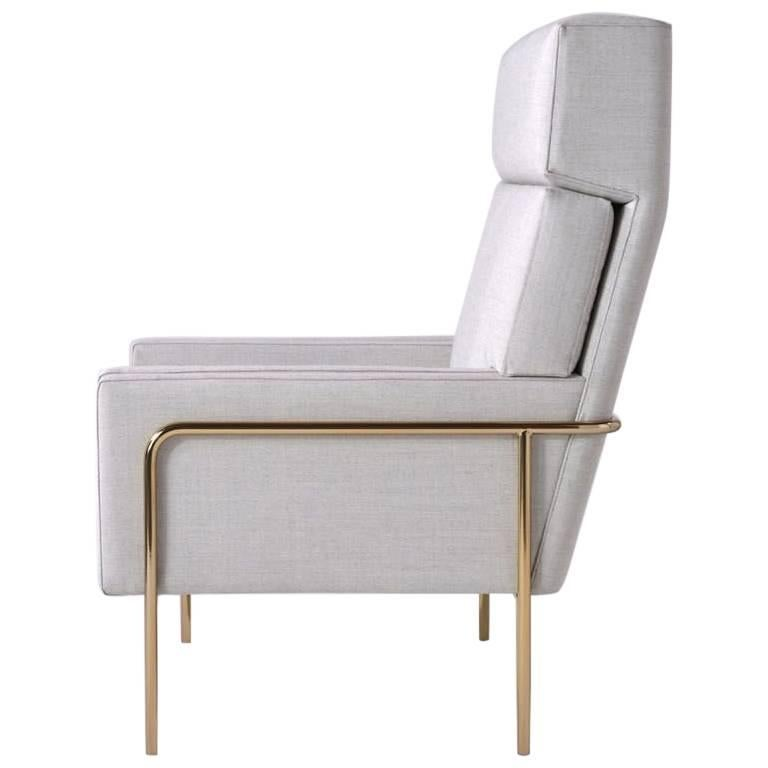 Trolley High Back Lounge Chair by Phase Design For Sale