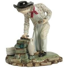 19th Century Figurine in Porcelain