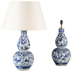 Pair of 19th Century Chinese Lamps