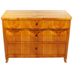 Unique 19th Century Biedermeier Period Chest of Drawers, circa 1820-1830