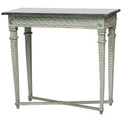Swedish Late Gustavian Painted Console, Late 18th-Early 19th Century