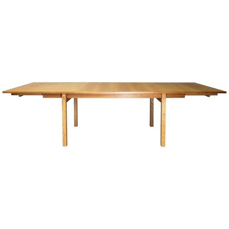 Dining Table by Hans J. Wegner, Andreas Tuck, Denmark, 1958 For Sale