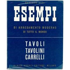 """""""Esempi - Tavoli, Tavolini, Carrelli"""" Book"""