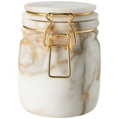 Miss Marble Calacatta Jar by Lorenza Bozzoli for Editions Milano