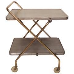 Restored Metal Rolling Cart