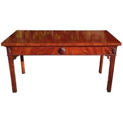 18th Century Mahogany Console Table