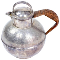 Antique Small Silver Pitcher or Teapot