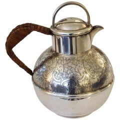 English Antique Small Silver Pitcher or Teapot by Bailey Banks & Biddle