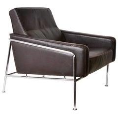 Lounge Chair Style Arne Jacobsen for Fritz Hansen, 1956 Mid-Century Modern