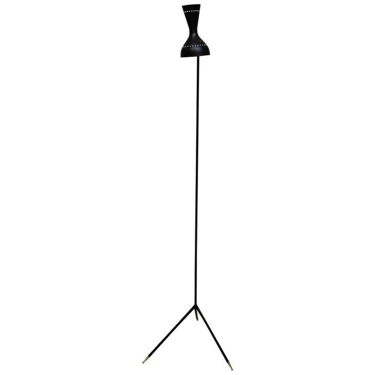 Beautiful Stilnovo Style Italian Floor Lamp