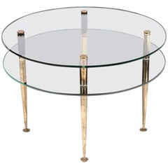 1950s Circular French Coffee Table