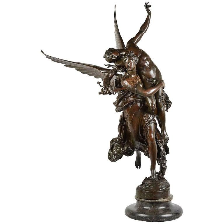 19th Century 'Gloria Victis' Bronze Statue
