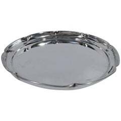 Cartier Modern Sterling Silver Tray