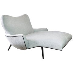 Double Wide Chaise Longue in the Style of Adrian Pearsall