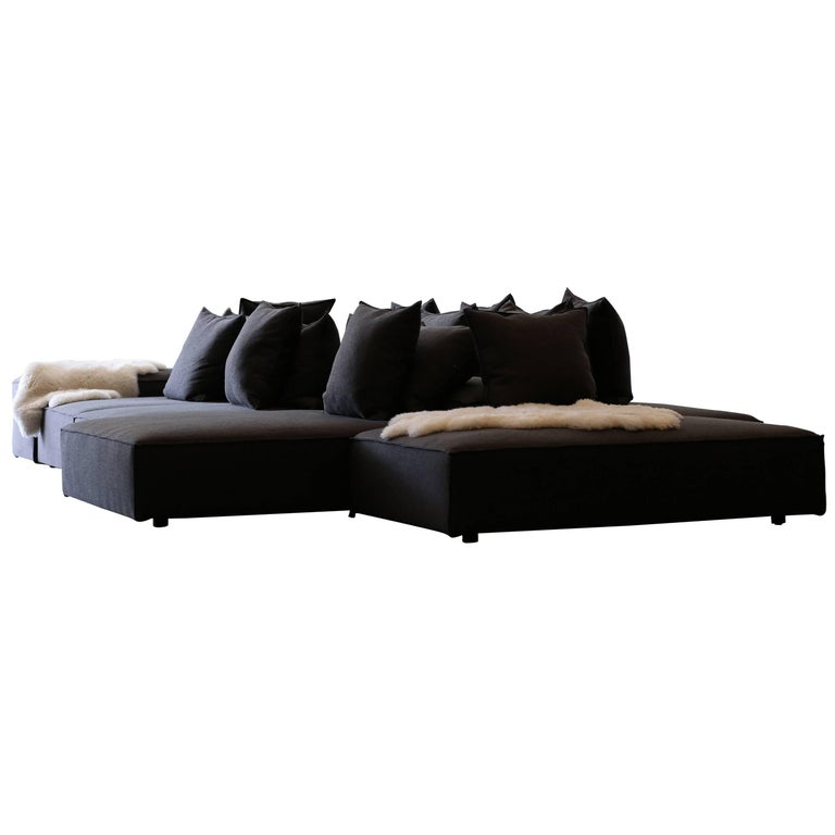 Living Divani, Lounge 14 Cushion Sofa and 12 Modules For Sale at ...