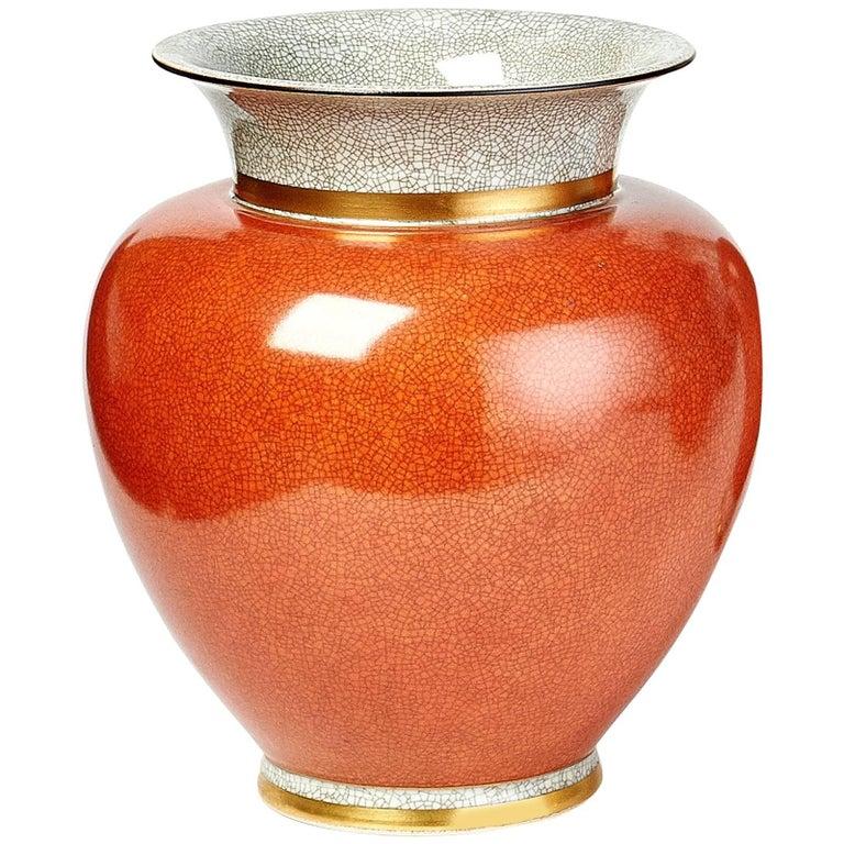 Large Royal Copenhagen Porcelain Vase, 1950s