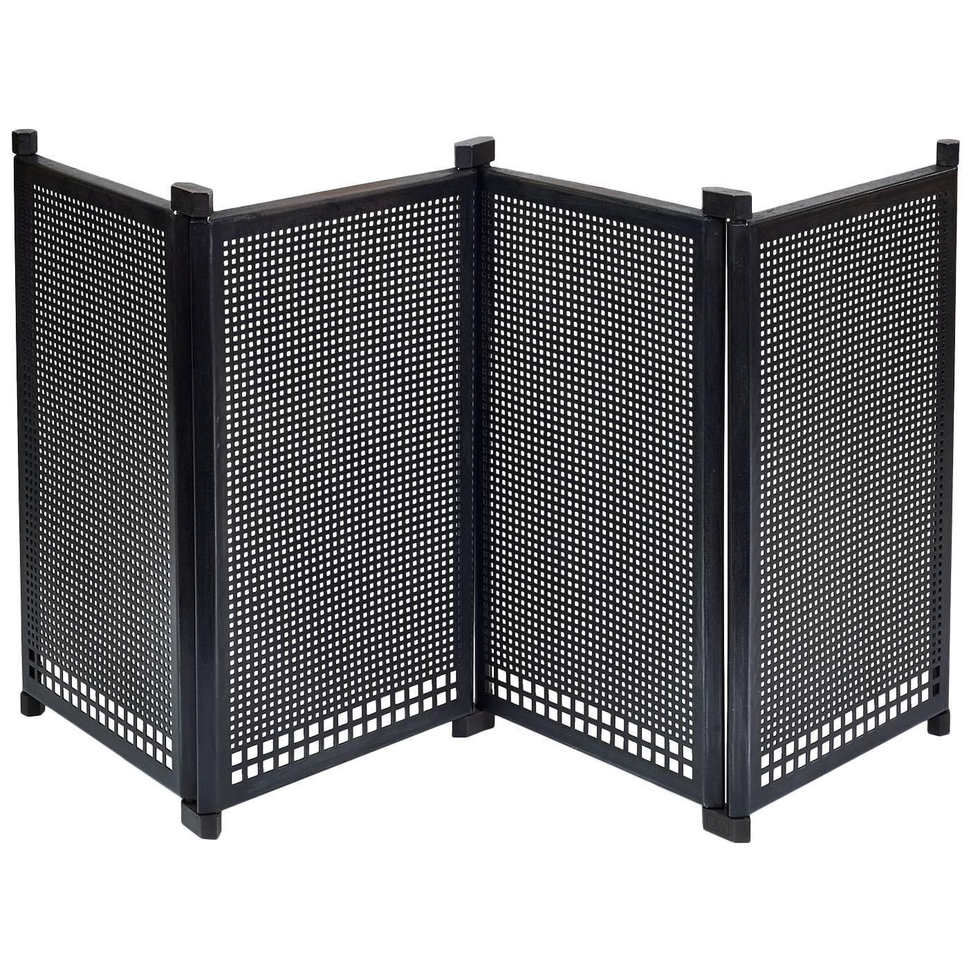 Fireplace Screen by Afra & Tobia Scarpa, Italy, 1970s