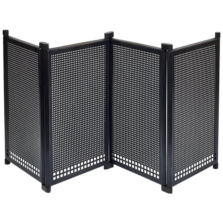 Fireplace Screen by Afra & Tobia Scarpa, Italy, 1970s For Sale