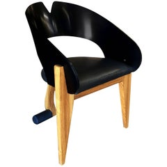 Modernist Chair from the Gallery of Functional Art, circa 1994