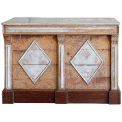 Antique Geometric Counter