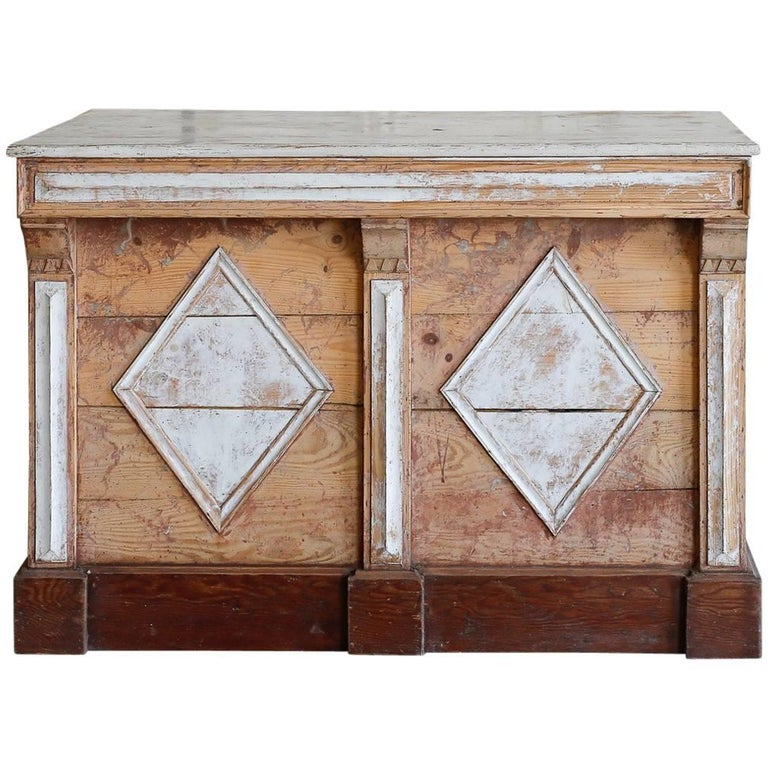 Antique Geometric Counter