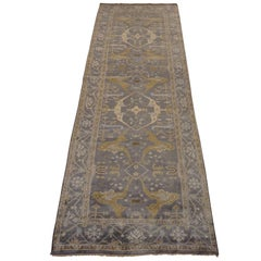 Turkish Style Wide Oushak Gallery Runner