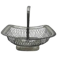 Sheffield Plate Fruit Basket, circa 1810