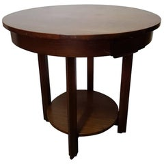 Dutch Art Deco Mahogany Card Table, circa 1920